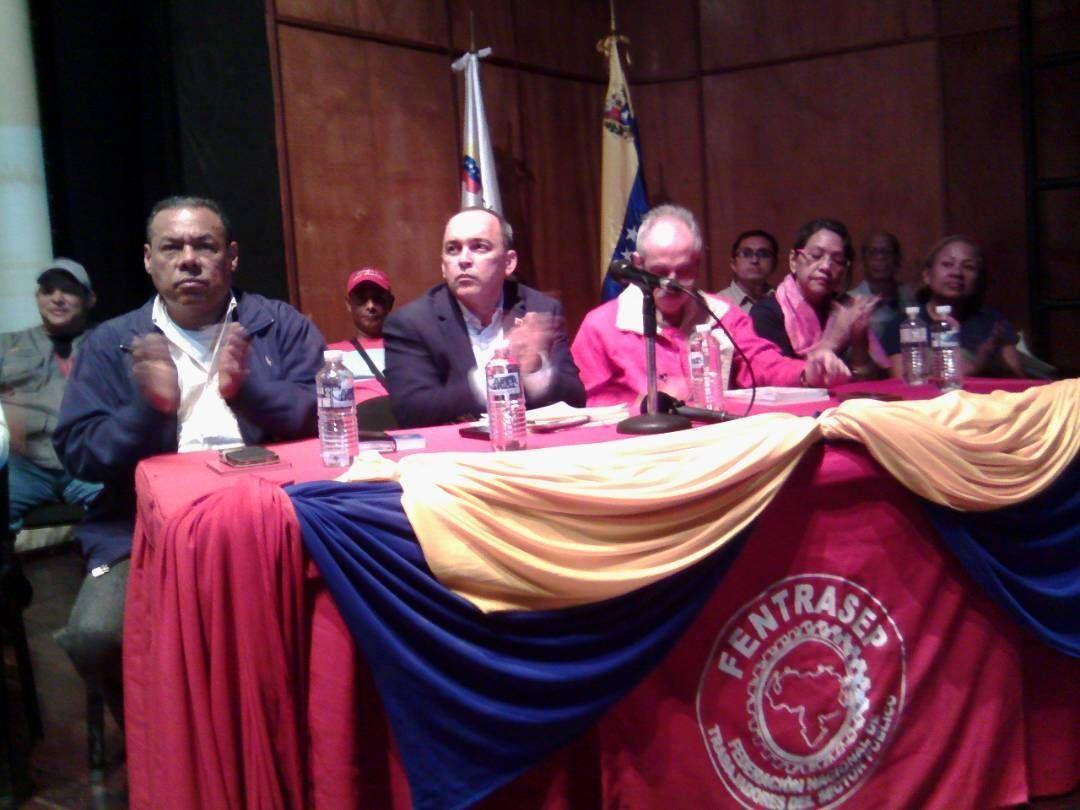 Trabajadores públicos debaten y se preparan para la Asamblea Constituyente