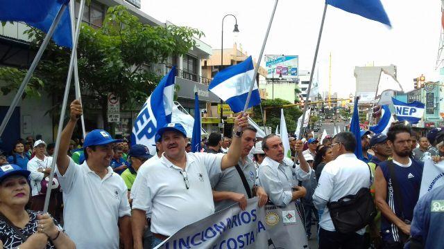 Previsión Social: Trabajadores costarricenses se movilizan contra el aumento del aporte jubilatorio