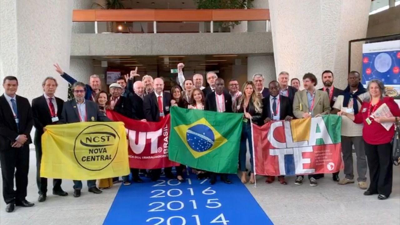 Solidaridad con la huelga general de Brasil en la OIT