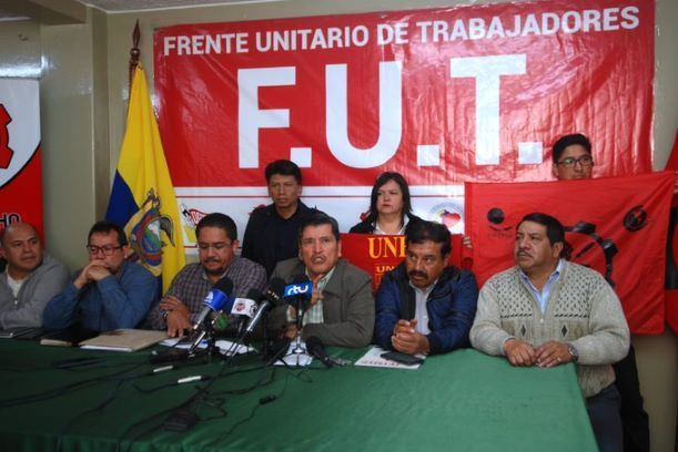 FUT adiverte que las cifras del desempleo en Ecuador son alarmantes