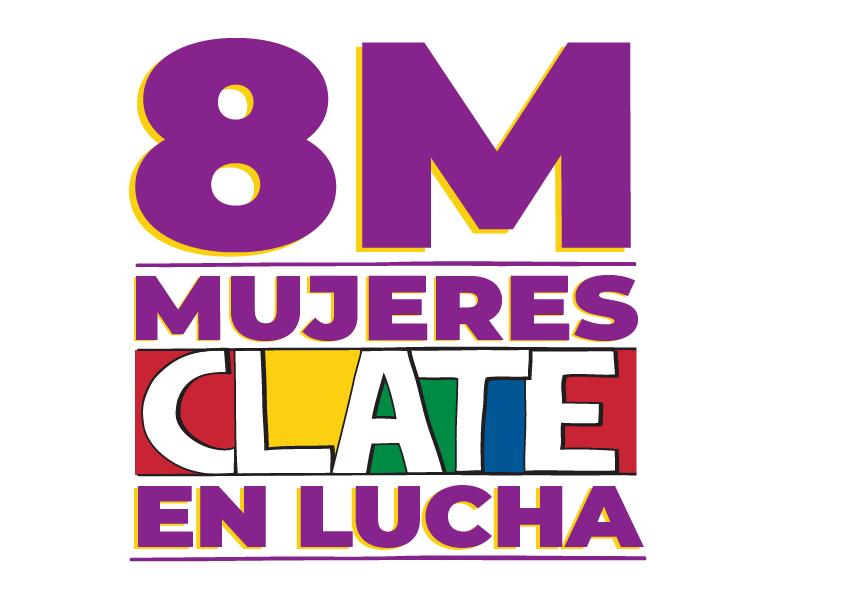 #8M CLATE convocó a la jornada internacional de mujeres trabajadoras en toda la región