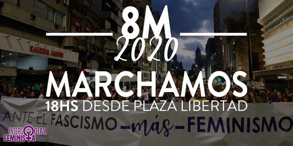 8M: Mujeres uruguayas por «más feminismo, mejor democracia»
