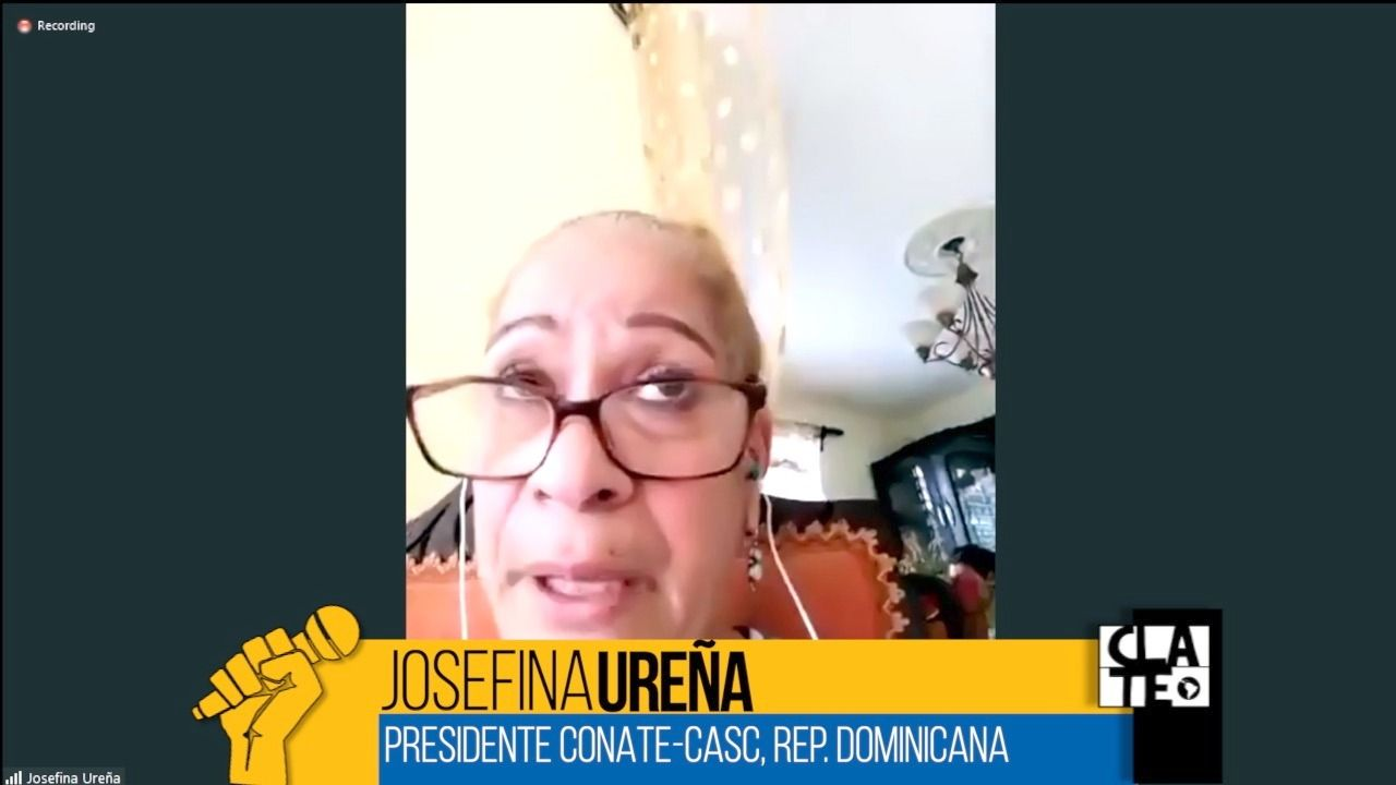 Josefina Ureña: «Hay muchos trabajadores de la salud infectados»