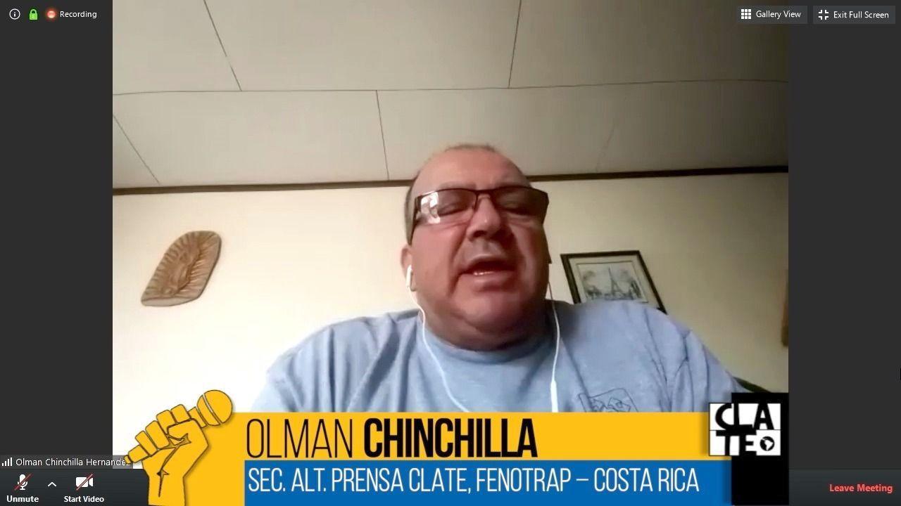 Olman Chinchilla: «Hay que fortalecer el diálogo social en Costa Rica»