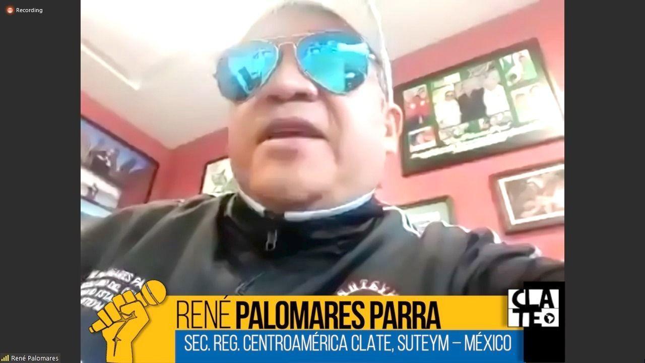 René Palomares Parra: «El SUTEYM está aplicando todos los protocolos»