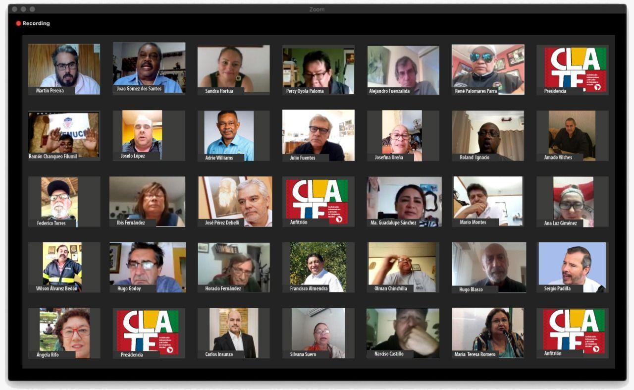 Se reunió el Comité Ejecutivo de CLATE