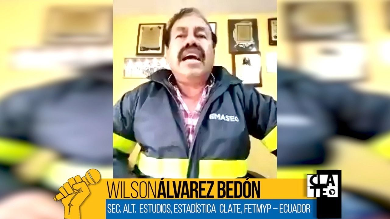 Wilson Álvarez Bedón: «Lo primero es la vida, no la economía»