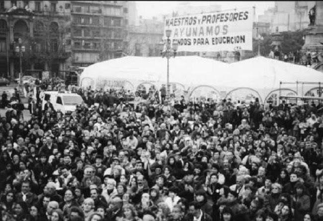 Argentina. A 23 años de la histórica Carpa Blanca: una lección de dignidad