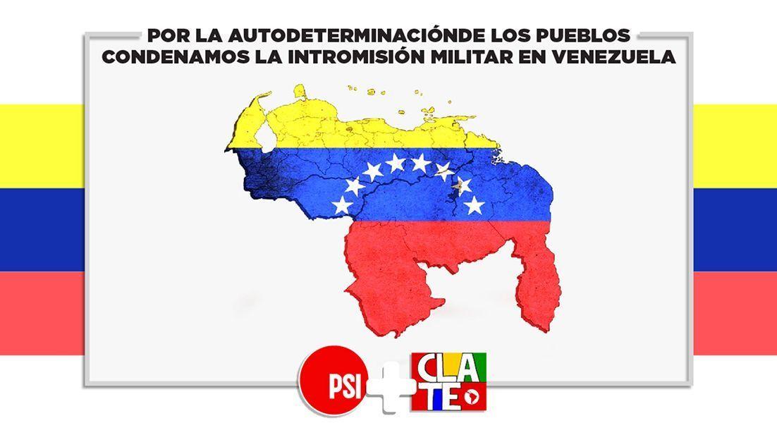 CLATE y la ISP, solidarias con Venezuela