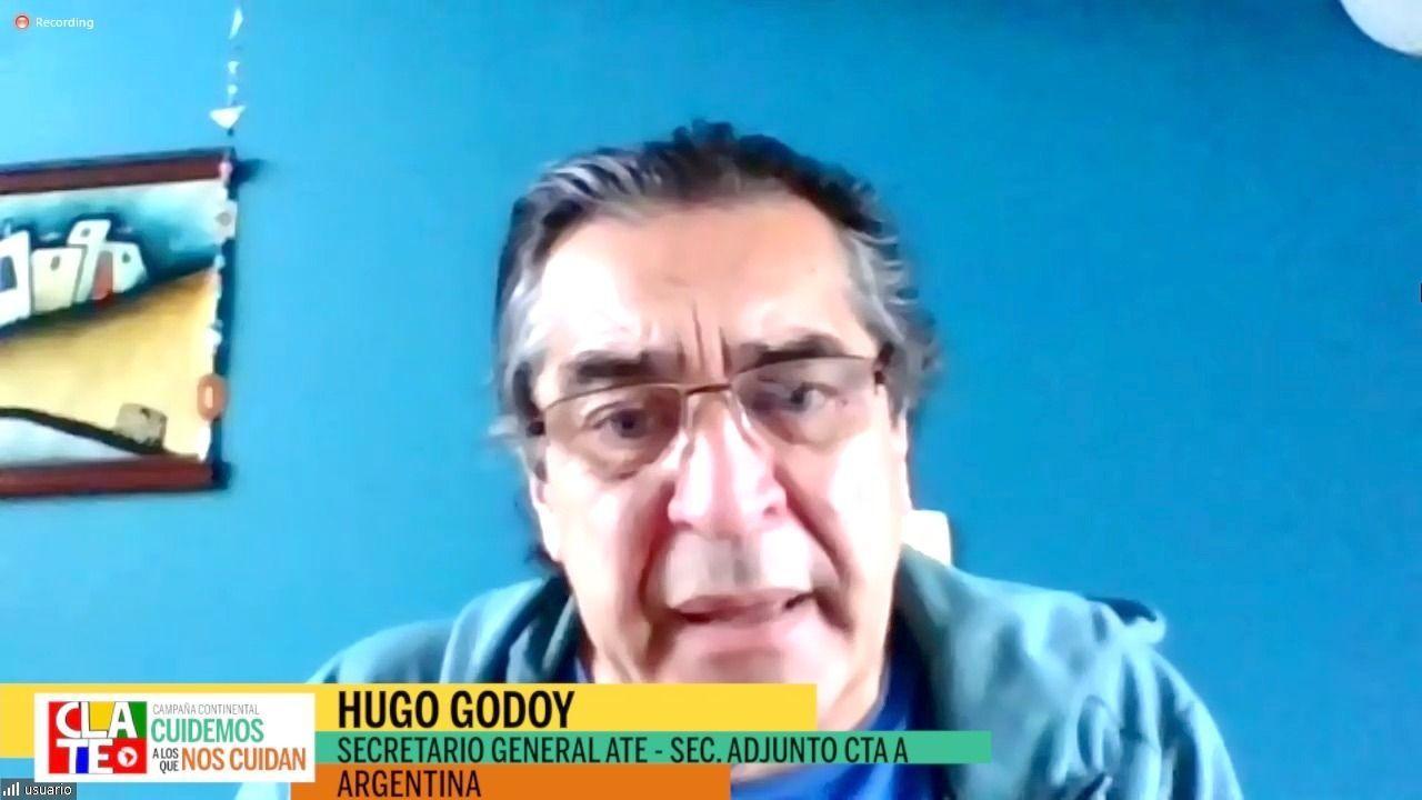 """Godoy: """"Donde hay convenio colectivo la respuesta del Estado y el cuidado de los trabajadores y trabajadoras es mayor"""""""