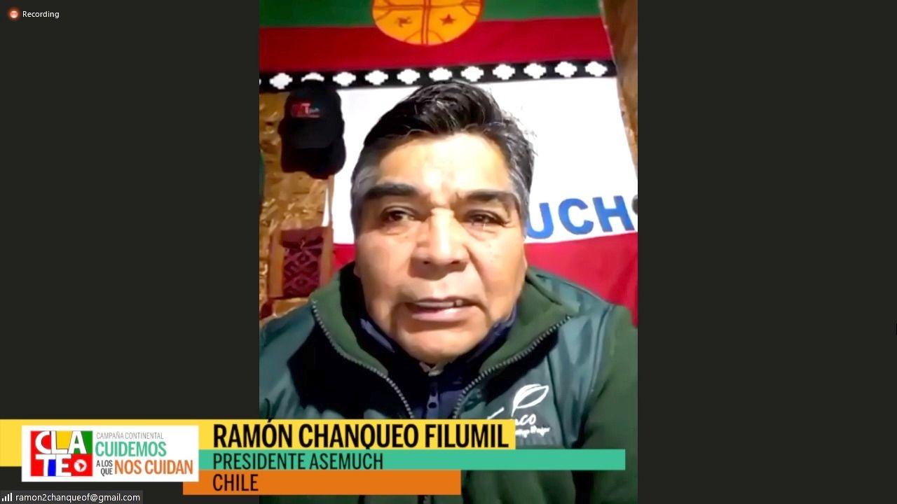 """Chanqueo: """"Un gobierno autoritario con un ministro de salud sin conciencia social"""""""