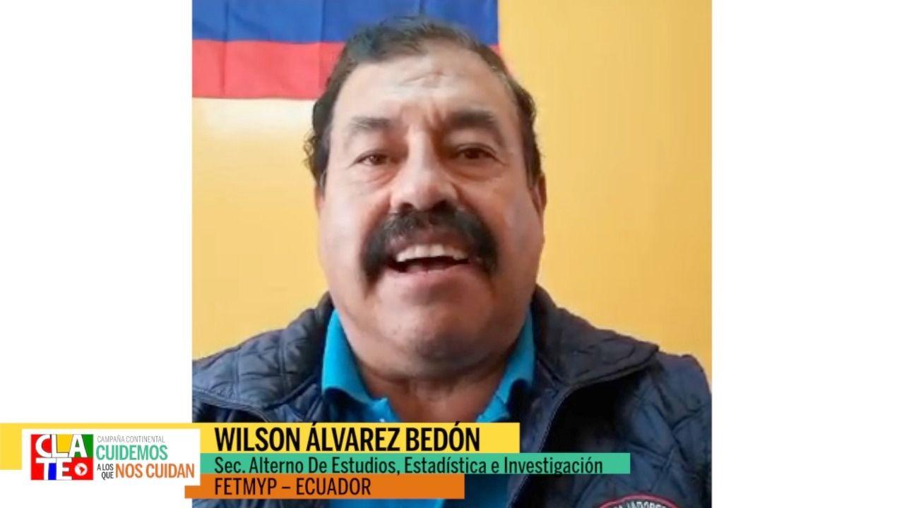 """Alvarez Bedon: """"No a la pandemia del neoliberalismo"""""""