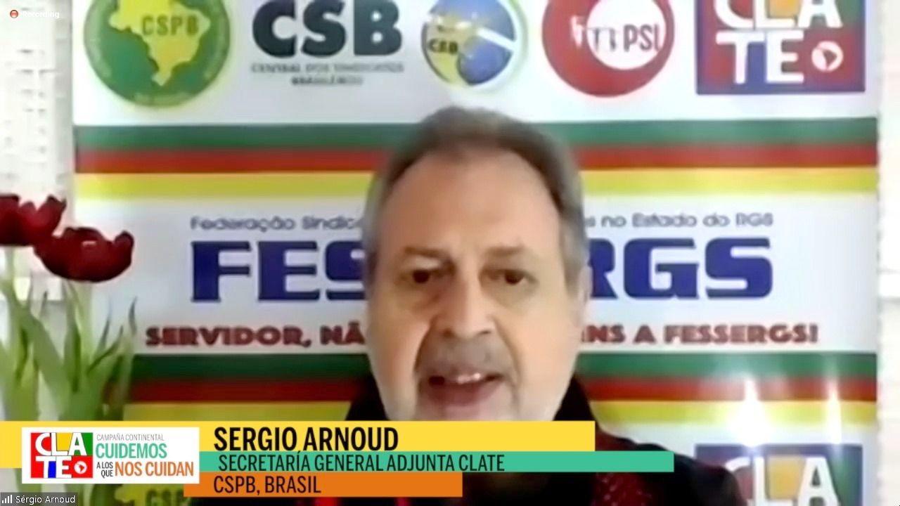 """Sergio Arnoud: """"En Brasil estamos luchando por la vida y por la democracia"""""""