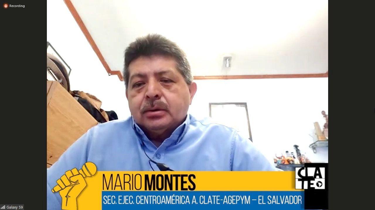 Montes: Crisis institucional, emergencia sanitaria y teletrabajo