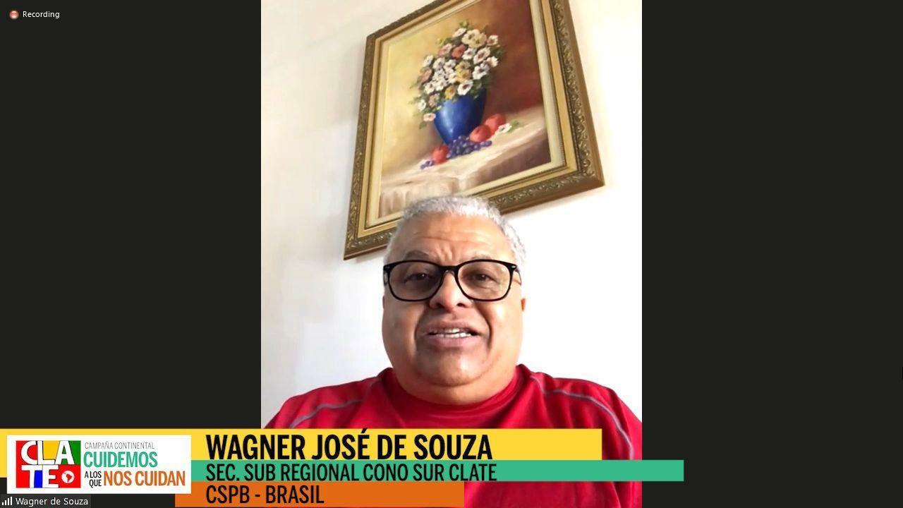 """Wagner de Souza: """"Hay que tasar a los más ricos, para darle a los más pobres"""""""