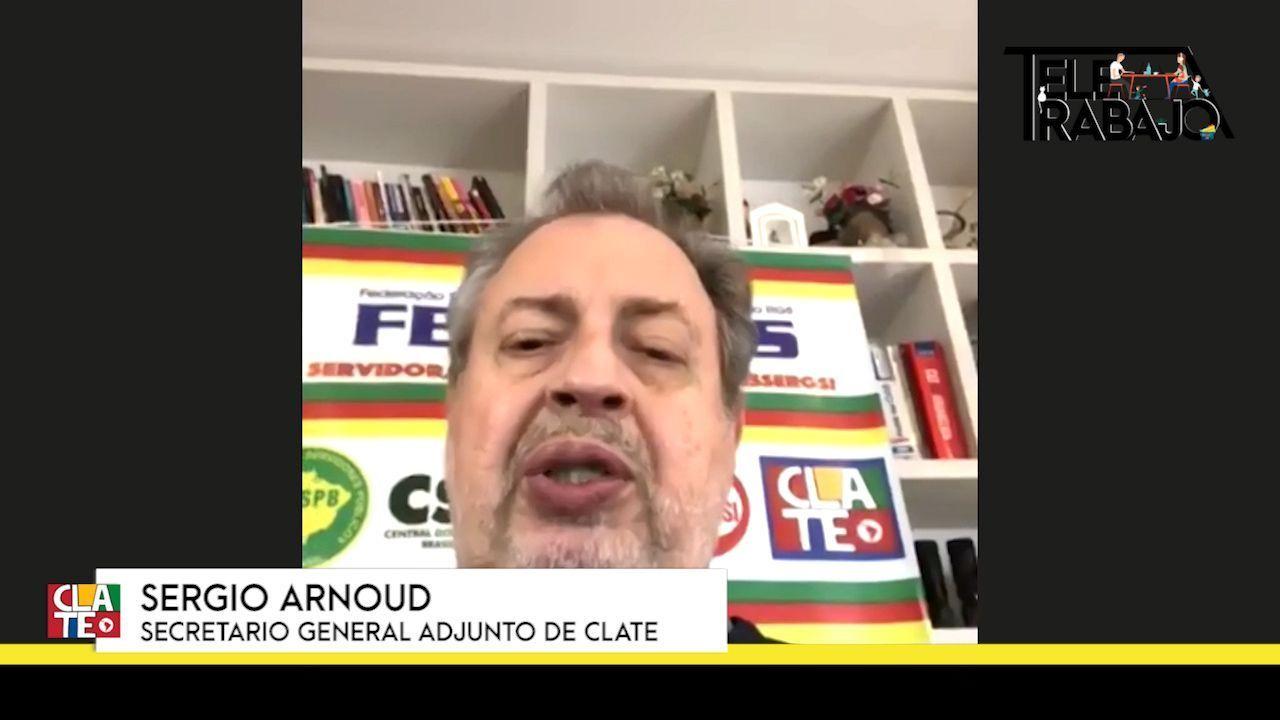 """Arnoud: """"El teletrabajo es una amenaza para los sueldos, el empleo y la estructura sindical"""""""