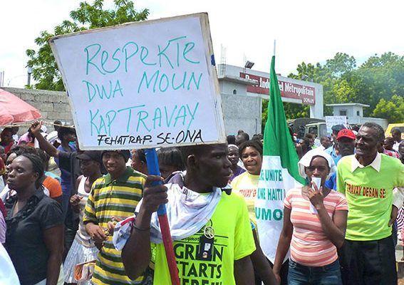CLATE solicitó la intervención directa de la OIT en Haití por violaciones a la libertad sindical