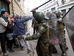 Repudio internacional a la represión y asesinato en Chile
