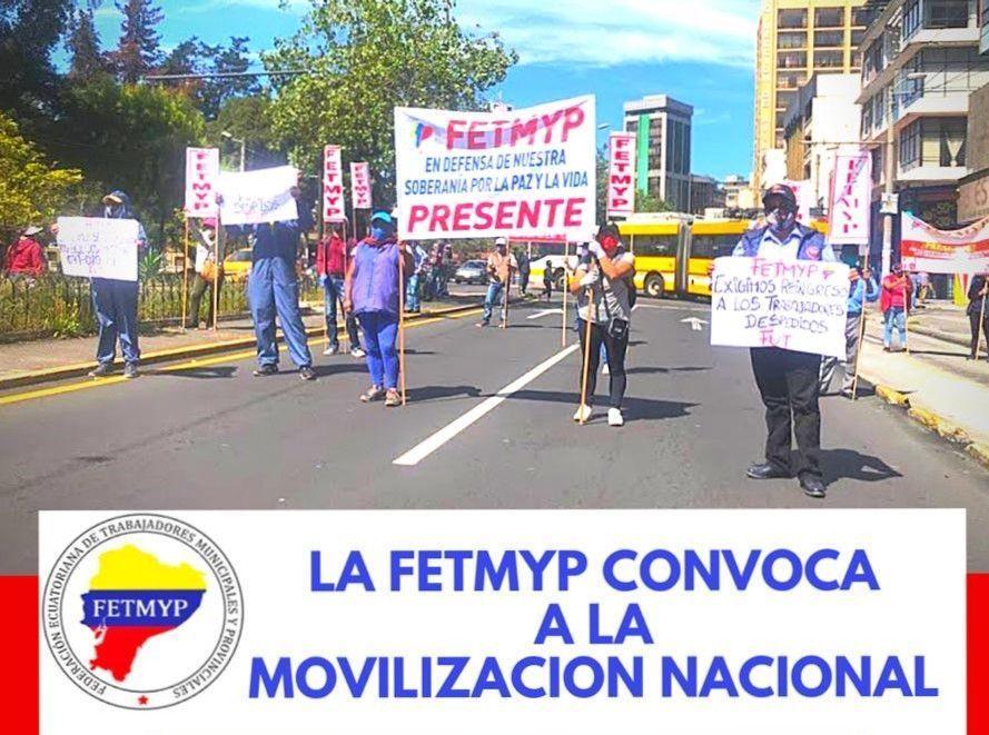 Trabajadores Municipales y Provinciales se suman a la Marcha Nacional del 22
