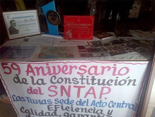 59° Aniversario del Sindicato Nacional de la Administración Pública de Cuba