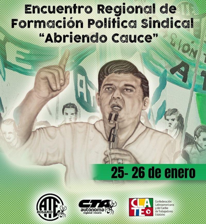 CLATE participará en Encuentro Regional de Formación Política y Sindical