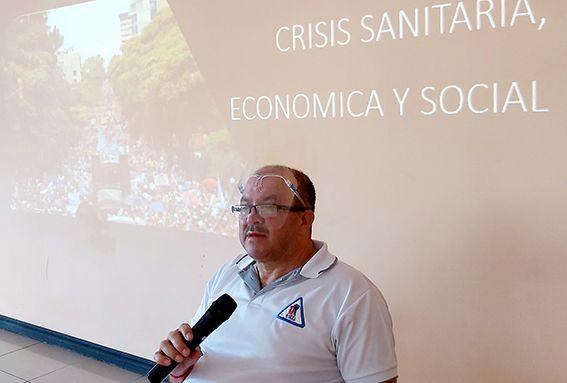 """Olman Chinchilla: """"Plan de lucha contra la ley de empleo y el acuerdo con el FMI"""""""