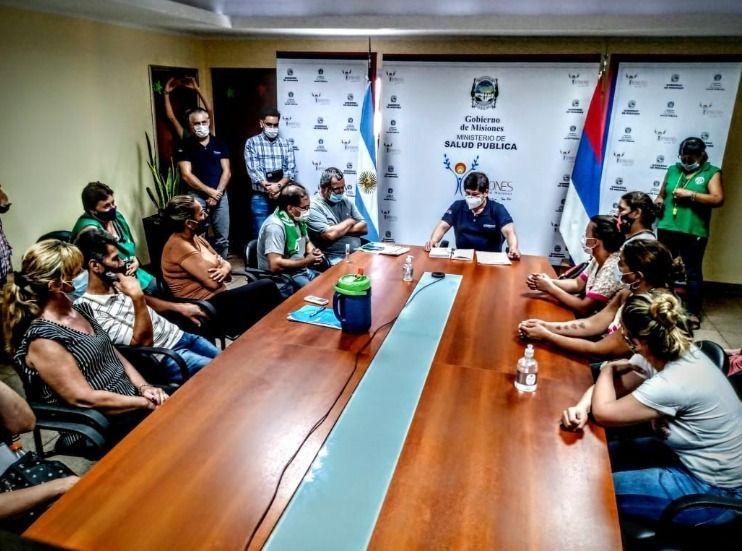 Solidaridad internacional y lucha: reincorporaron trabajadores de la Salud en Misiones