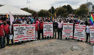 Ecuador: jornada de resistencia por la democracia