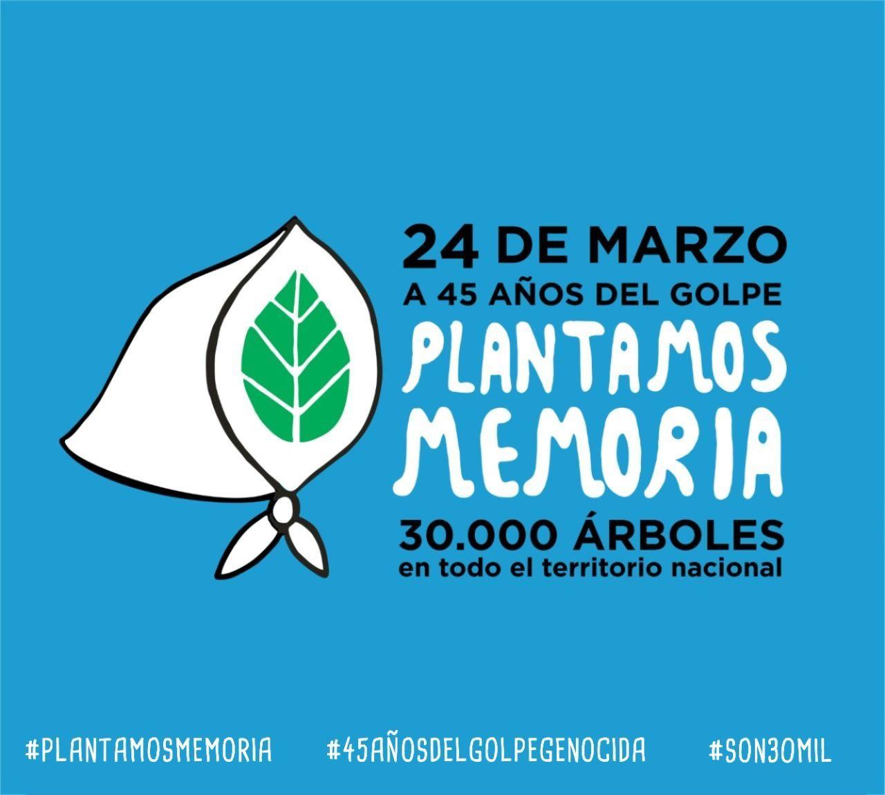 """A 45 años del golpe cívico – militar: """"Plantamos memoria"""""""