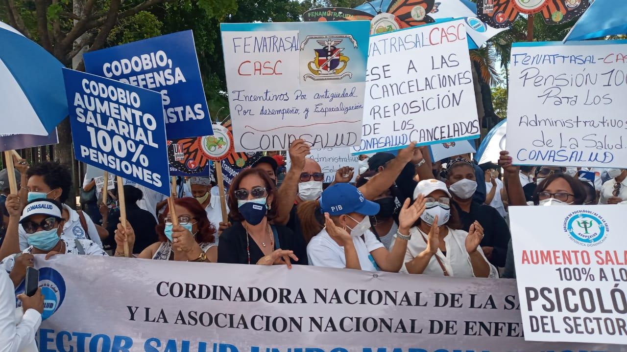 Reclamos de las trabajadoras y los trabajadores de la Salud