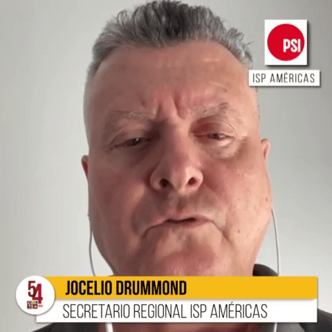 """Drummond: """"Tener a CLATE como organización es una fortaleza para los trabajadores del Sector Público"""""""