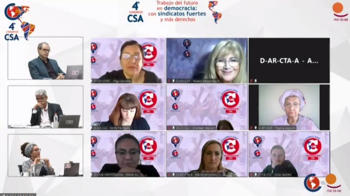 Culminó el 4to Congreso de la CSA con elección de nuevas autoridades