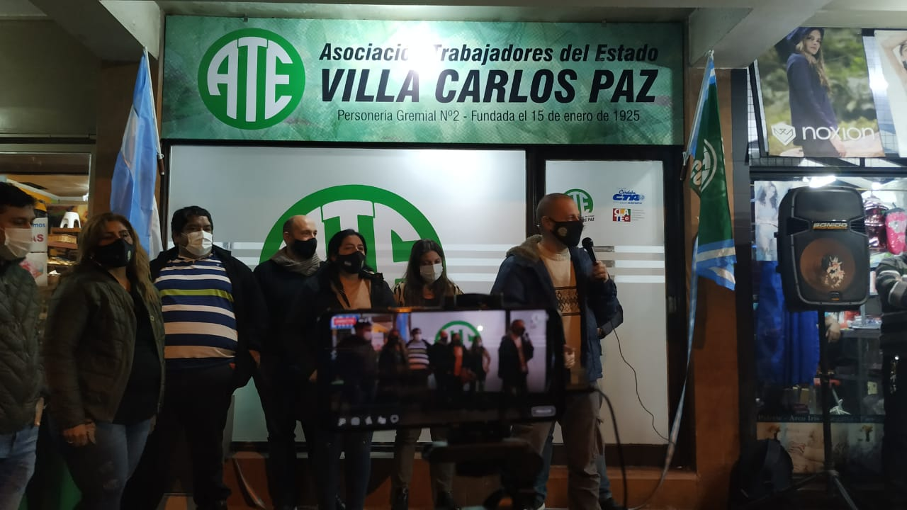 ATE inauguró una nueva sede sindical en la provincia de Córdoba