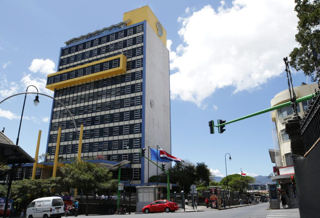 Trabajadores de Costa Rica contra las reformas en pensiones.