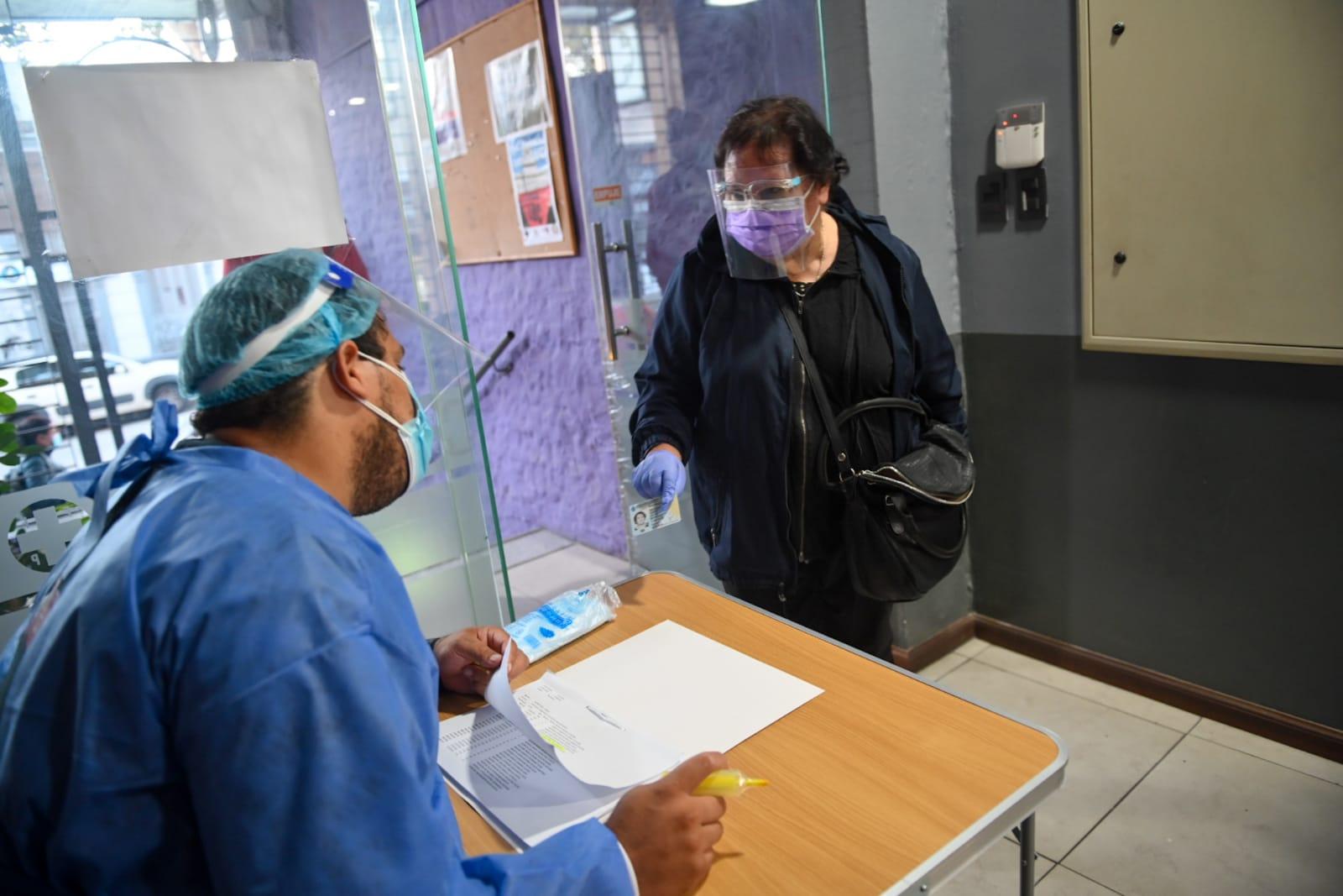 Vacunatorio que funciona en el sindicato de salud pública llegó a las 20.000 dosis