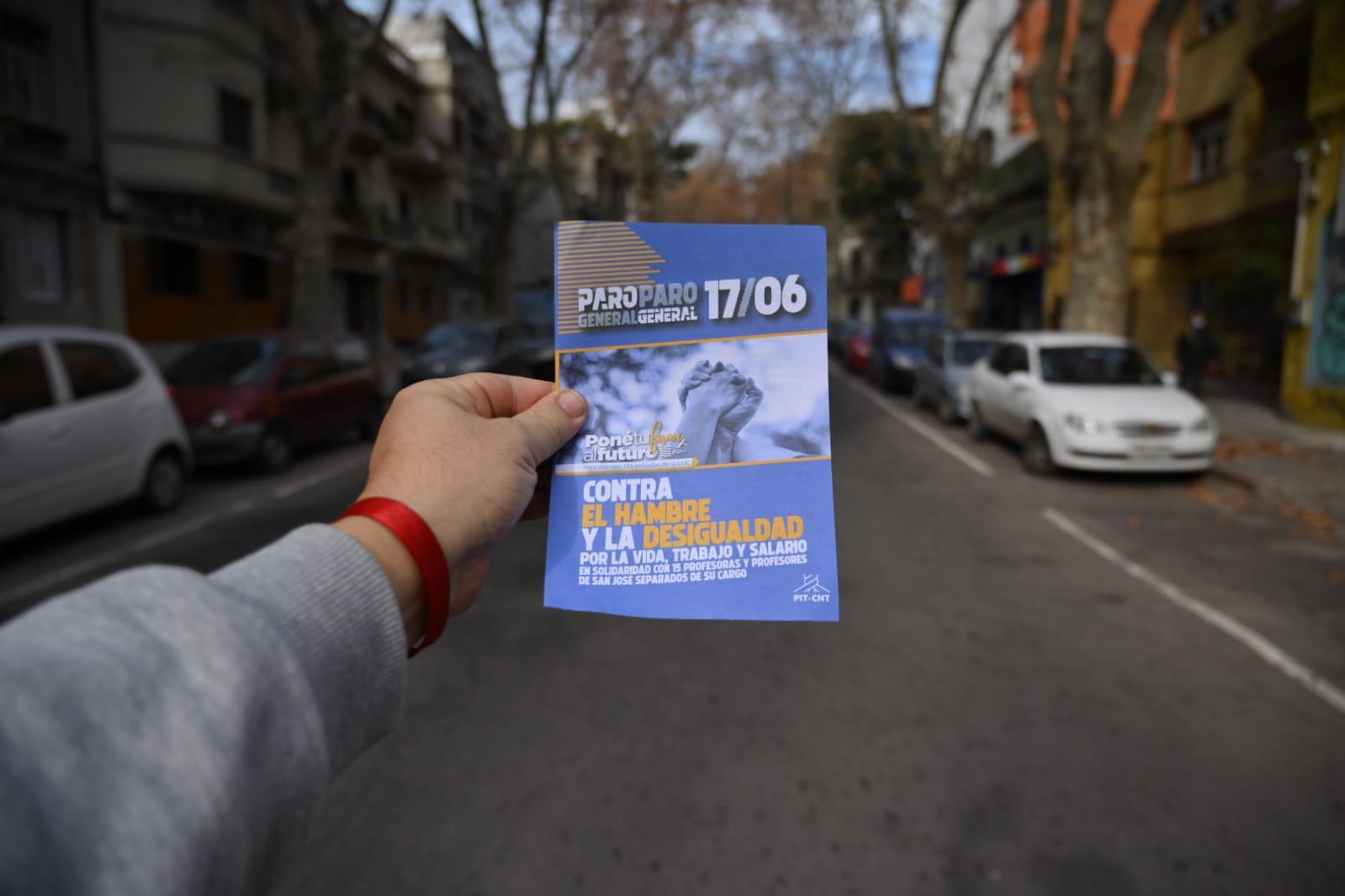 Paro general: Los uruguayos contra el hambre y la desigualdad