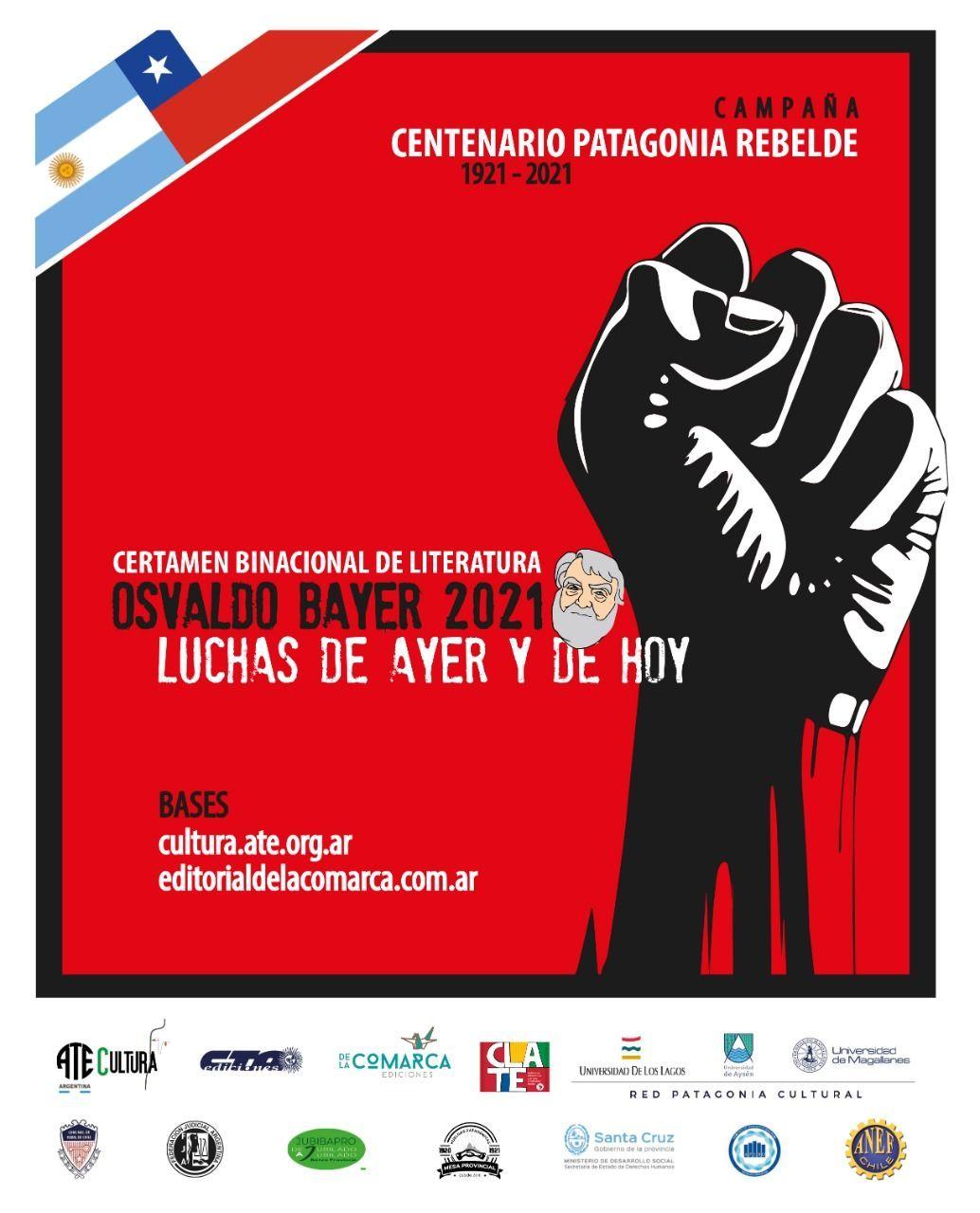 Con la participación de CLATE, se lanzó el Concurso Literario Osvaldo Bayer