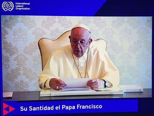 """Papa Francisco ante la 109 conferencia de la OIT: """"Salir de la crisis buscando el bien común"""""""