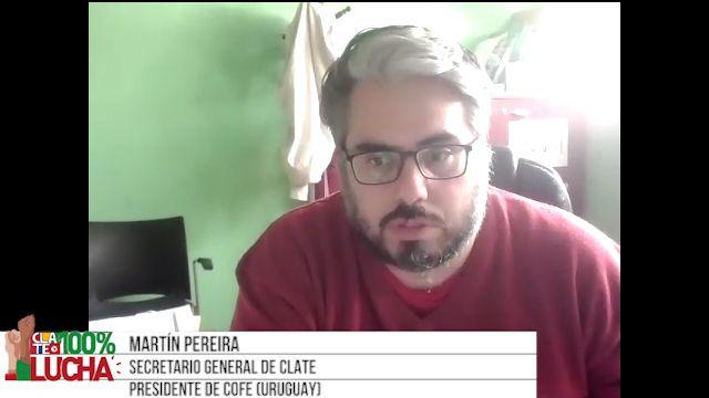 """Martín Pereira: """"El ajuste lo estamos pagando los trabajadores"""""""