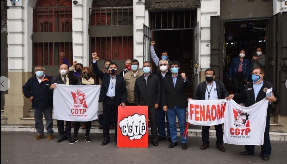 La CGT Perú presentó su agenda laboral al Ministro de Trabajo