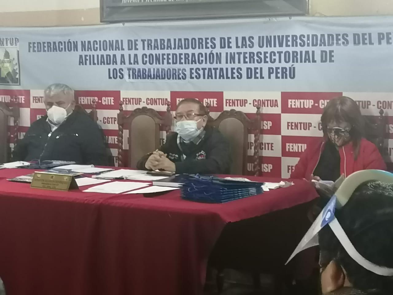 La CITE define sus próximas acciones en Perú