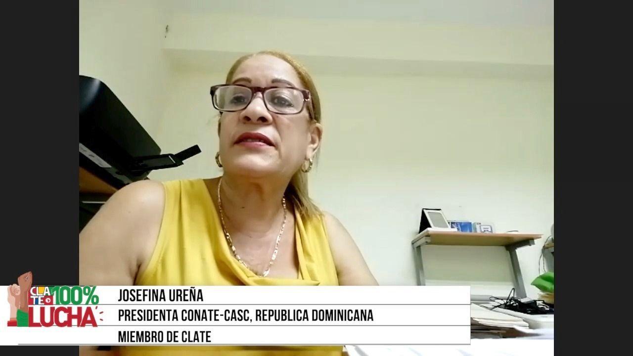 """Josefina Ureña: """"Los trabajadores administrativos somos los más vulnerables"""""""