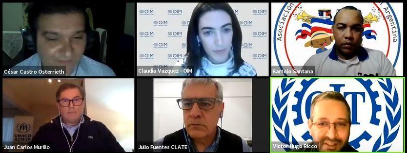 Charla debate: Migraciones y trabajo en contexto de pandemia