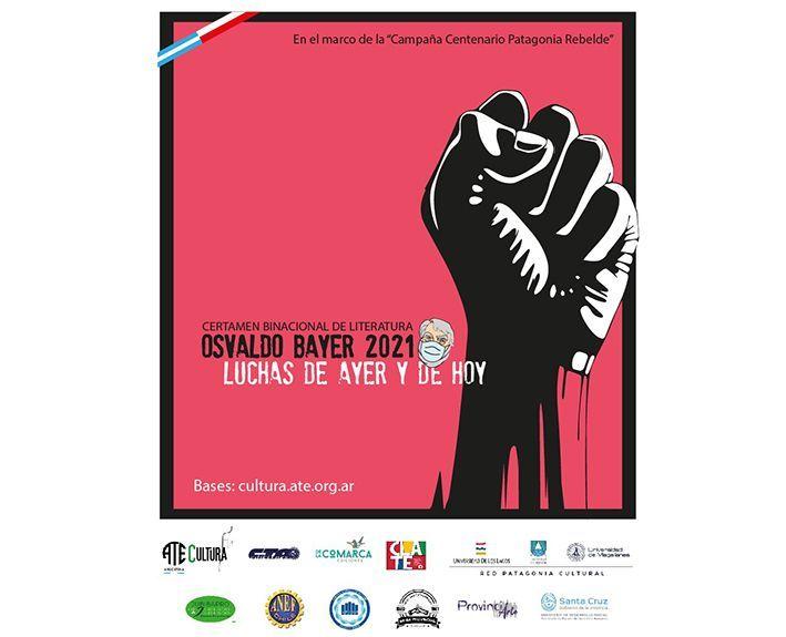 Medio millar de relatos participan en el Concurso Osvaldo Bayer 2021