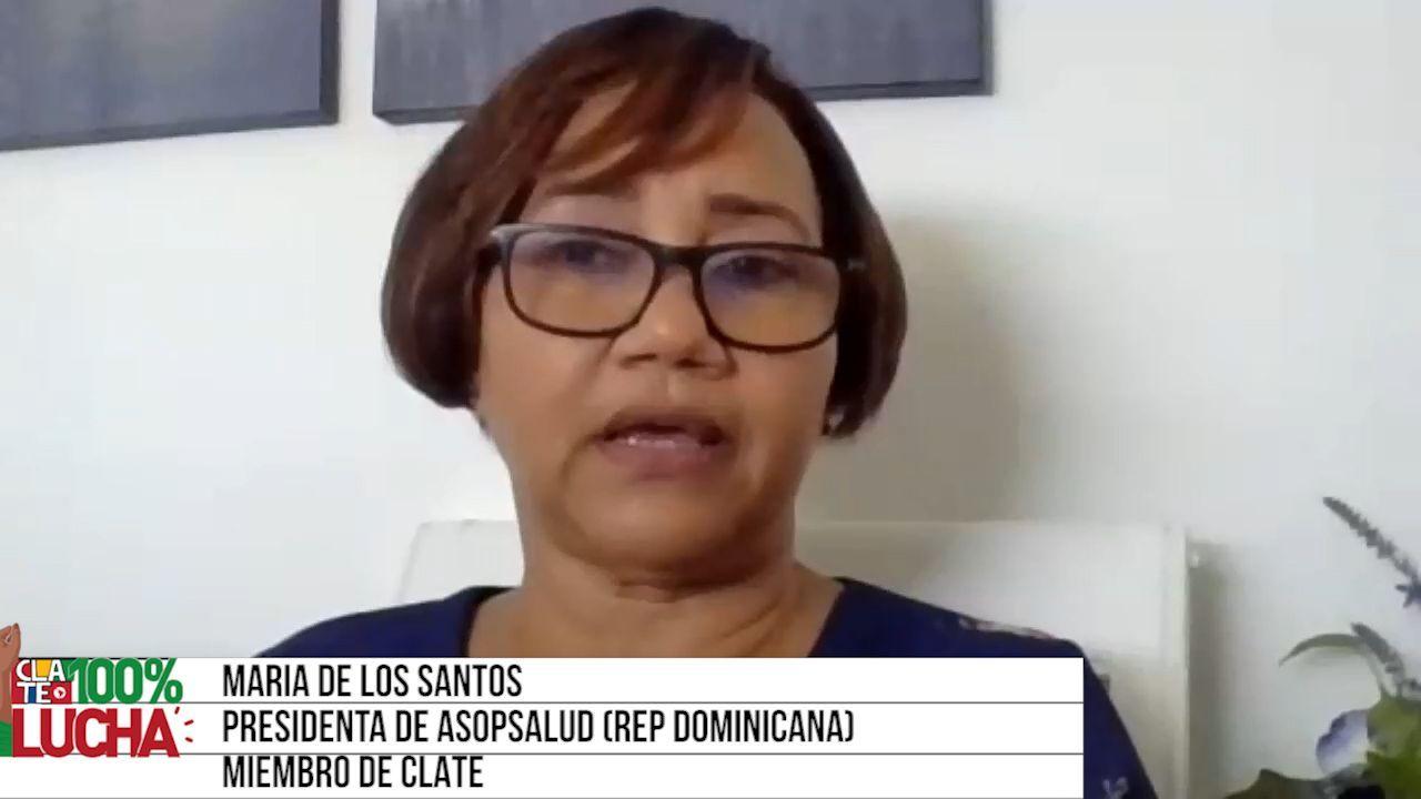 """María de los Santos: """"El gobierno quier"""""""