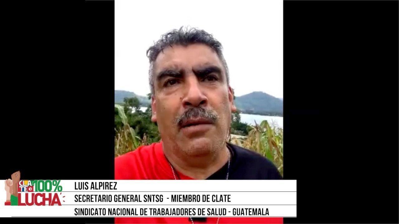 """Luis Alpirez: """"La pandemia nos restriega un país sumido en la pobreza"""""""