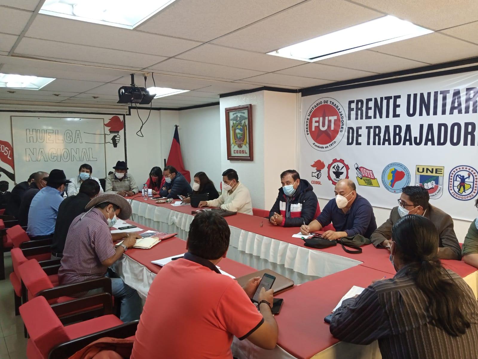 Contra la precarización laboral en Ecuador: