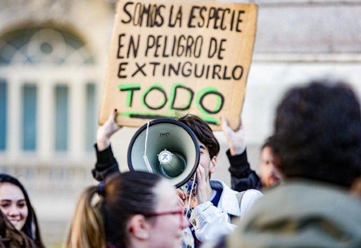 #24S Jóvenes de todo el planeta se sumaron a la Movilización Mundial por el Clima