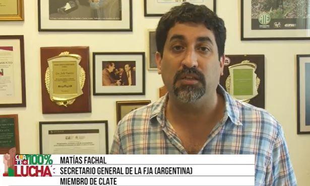 Matias Fachal: «Por el derecho a la negociación colectiva»
