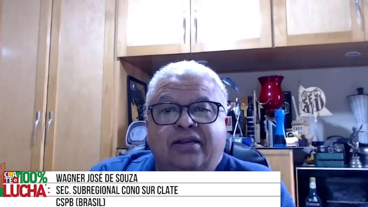 Wagner de Souza: «Bolsonaro es un indolente social»